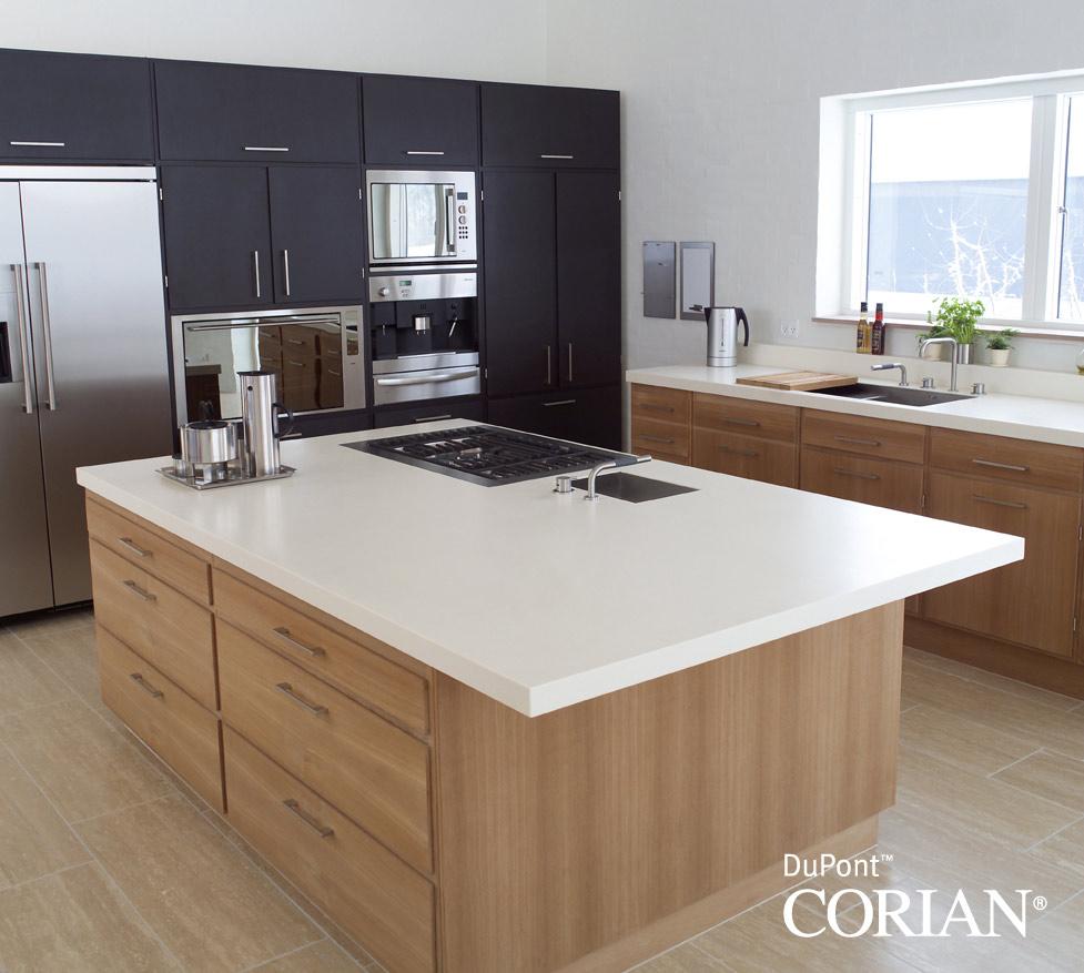 Cucine in DuPont™ Corian® | Effedi