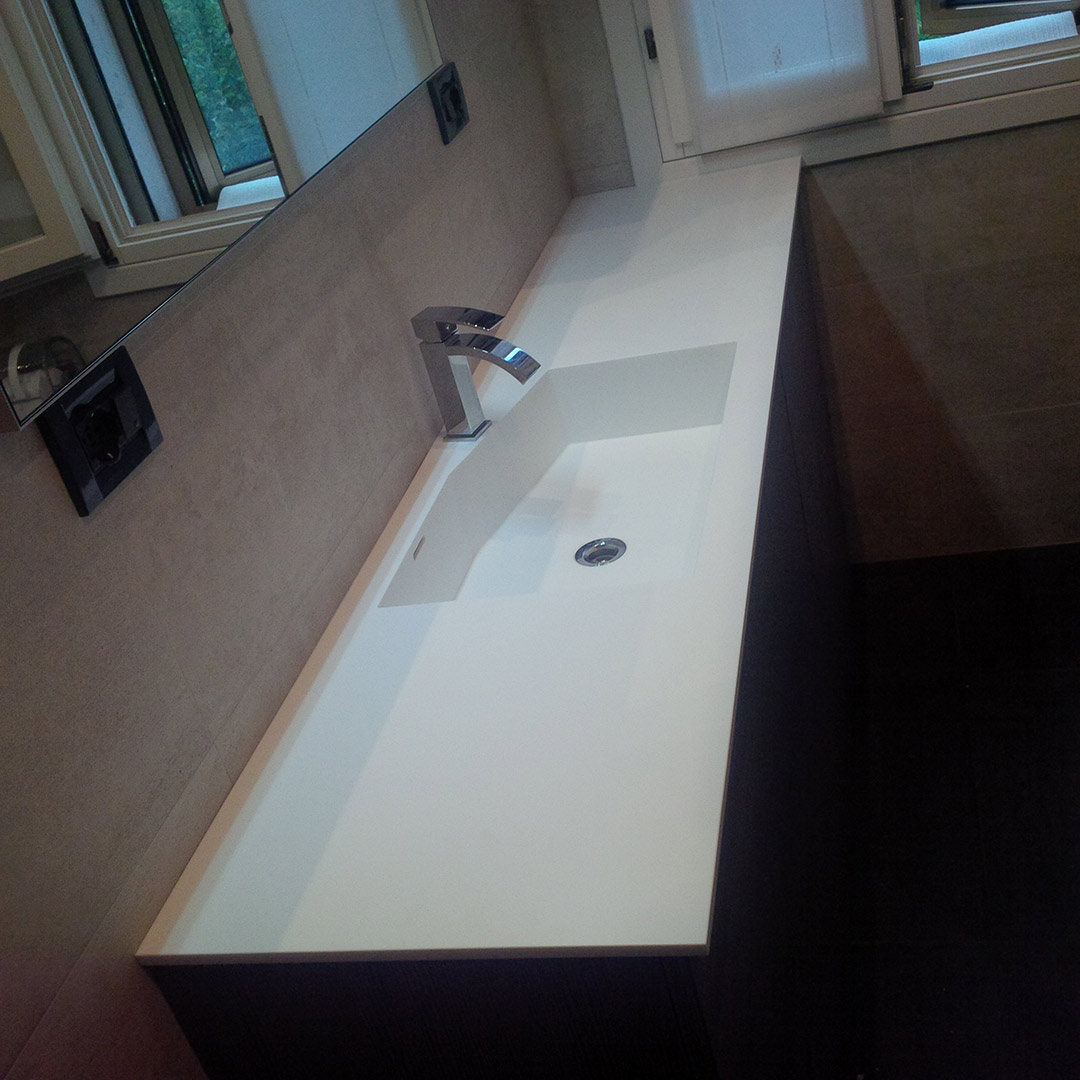 Lavabo in corian good gallery of with lavabos de corian with lavabo in corian stunning - Lavabos de corian ...