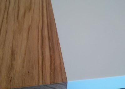 dettaglio legno corian