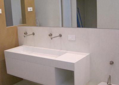 lavabo bagno corian moderno